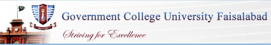 GC University Faisalabad Merit Lists 2014 Undergraduate