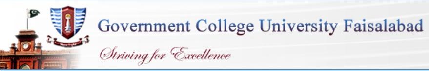 GCU Faisalabad Undergraduate Merit Lists 2017