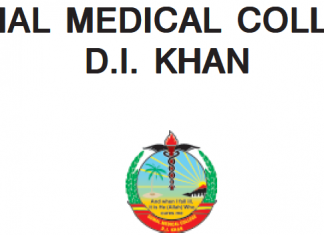 Gomal Medical College MBBS Merit List 2019
