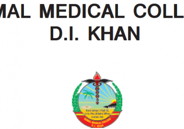 Gomal Medical College MBBS Merit List 2019