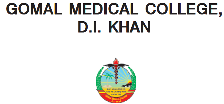 Gomal Medical College MBBS Merit List 2017