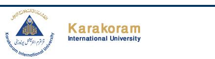KIU Inter Part 1 Result 2017 FA/FSc Karakoram University Gilgit