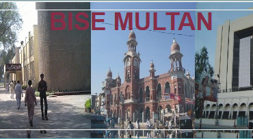 12th Class Result 2016 BISE Multan Board Inter Part 2 FA, FSC
