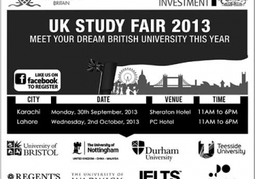GEFC UK Study Fair 2013 in Karachi, Lahore Registration Process