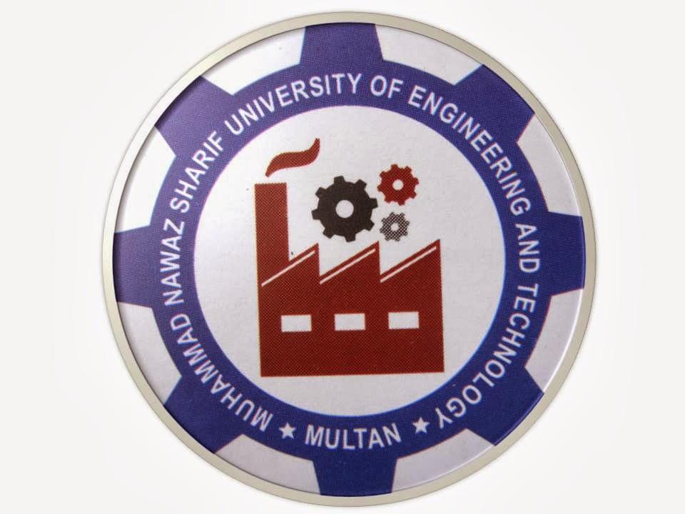 MNS UET Multan BSc Engineering Merit List 2017