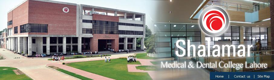 Shalamar Medical And Dental College Lahore Admission 2014