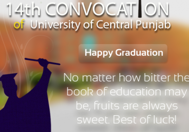 University of Central Punjab UCP 14th Convocation 2013