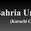 Bahria University Karachi Entry Test Result 2018, Merit List