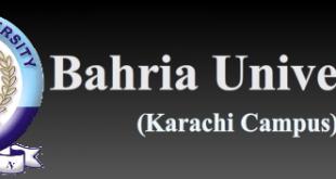 Bahria University Karachi Entry Test Result 2019 Merit List