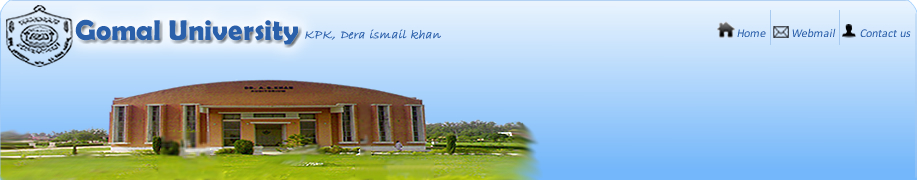 Gomal University NTS NAT Test Result 2013-2014 Merit List Bachelor, Master