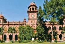 Punjab University PU MA MSC Date Sheet 2020 Part 1, 2