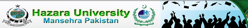 Hazara University MA English, Islamiat, Urdu Part 1, 2 Result 2015