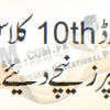 Lahore Board 10th Class English Past Papers