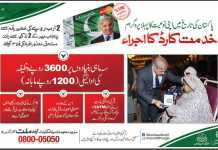 Punjab Khidmat Card Scheme 2016 Application Form Criteria