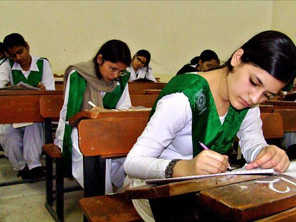 BISE Lahore Board Matric 10th Class Result 2015
