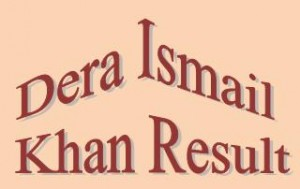 Dera Ismail Khan Board Matric 9th, 10th Class Result 2015 Online