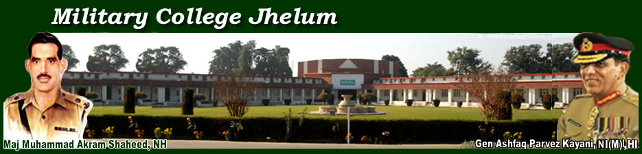 Military College Jhelum 1st Year Admission Entry Test Result 2018