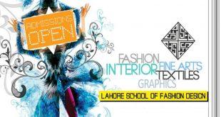 Lahore School of Fashion Designing Admission 2015