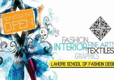 Lahore School of Fashion Designing Admission 2016 Form, Entry Test