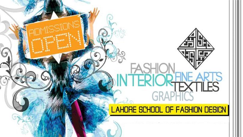 Lahore School of Fashion Designing Admission 2016