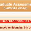 NTS Law GAT Test Result 2014-II of 25th May Law Graduate Assessment Test