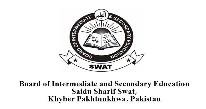 BISE Swat Board Inter Result 2017, Part 1, 2 FA FSC Results