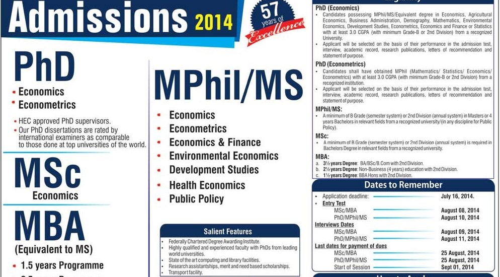 Msc and Phd from pakistan?