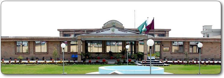 Abdul Wali Khan University Mardan AWKUM Undergraduate Fall Admission 2015