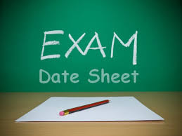 AIOU Matric FA BA Date sheet 2016 For Spring Exams