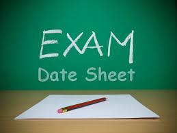 AIOU Matric FA BA Date sheet 2016 For Spring Exams