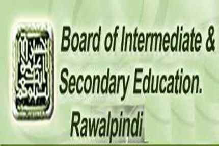 BISE Rawalpindi Board 9th, 10th Matric Supply Exams Date Sheet 2017