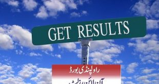 9th Class Result 2019 Rawalpindi Board Announced Date