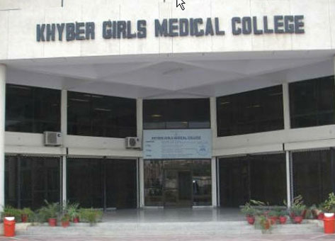 Khyber Girls Medical College KGMC Merit List 2017