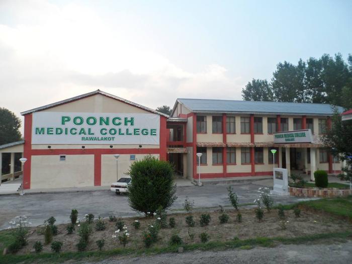 Poonch Medical College Rawalakot MBBS Admission 2017 Merit List