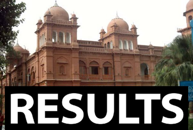 Punjab University PU MA/MSc Part 1, 2 Result 2019