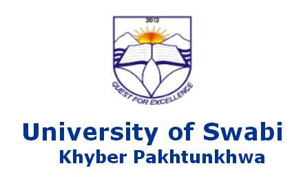 University of Swabi Merit List 2018