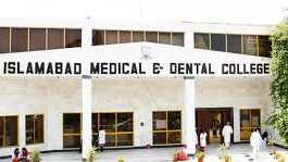 Islamabad Medical and Dental College Merit List 2019