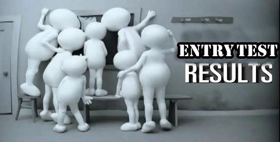 Jinnah Sindh Medical University NTS Entry Test Result 2018