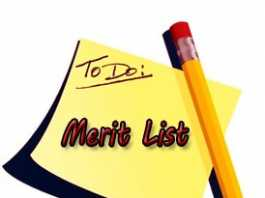 Punjab Medical College Faisalabad MBBS/BDS Merit List 2019