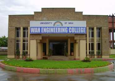WAH Engineering College Entry Test Result 2016