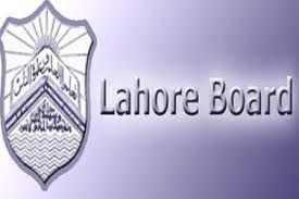 BISE Lahore Board Inter Part 2 Date Sheet 2016