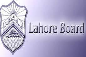 BISE Lahore Board Inter Part 1, 2 FA, FSC Date Sheet 2016