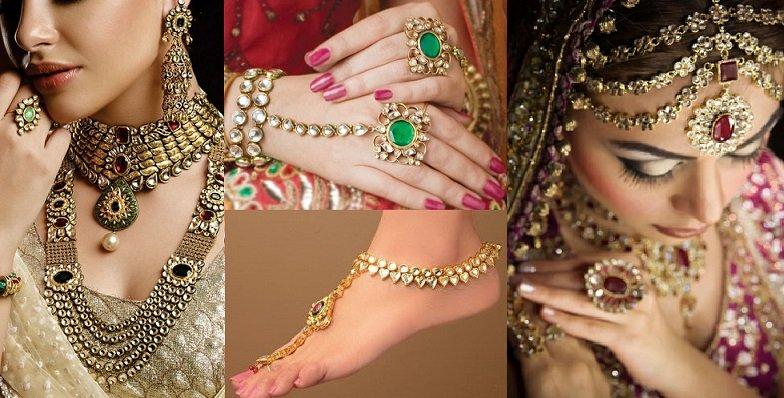 Latest Pakistani Bridal Jewellery Design 2018