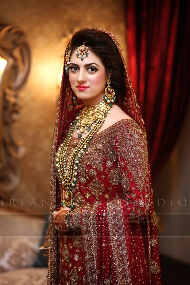 Pakistani bridal jewellery designs 2018 for Pakistani designer wedding dresses 2017