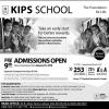KIPS School Admissions 2018