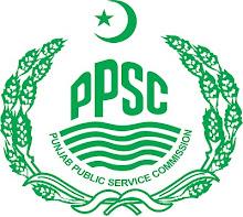 Punjab Public Service Commission PPSC Written Test Schedule 2015