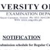 University Of Gujrat UOG B.Com Annual Exams Form, Fee Schedule 2018 Dates