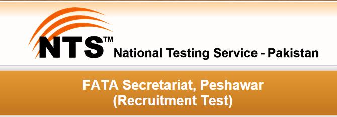 FATA Secretariat Peshawar NTS Test Result 2015 Answer Keys