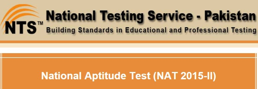 NTS NAT Test Result 22 February 2015 Answer Keys