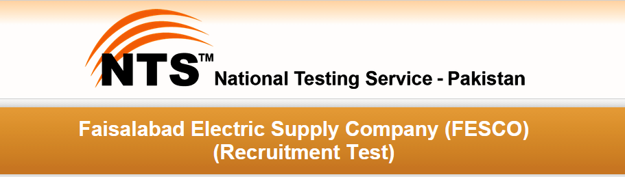 Faisalabad FESCO NTS Test Date 2016 Roll No Slips Download